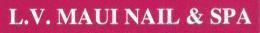 L.V. Maui Nail & Spa Logo